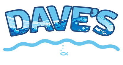 Dave's Pool Repair Logo